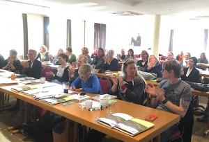 Das Forum der Delegierten diskutierte über die derzeitige Situation des Schulfaches Kunst